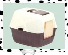 Caisse litière pour chat